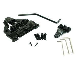 FLOYD ROSE FR FRX TOP MOUNT TREMOLO, BLACK (TAILPIECE STUD BRIDGE)