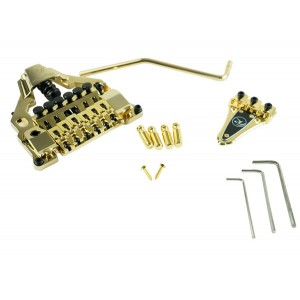FLOYD ROSE FR FRX TOP MOUNT TREMOLO, GOLD (TAILPIECE STUD BRIDGE)