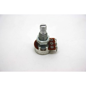 MINI POTENTIOMETER B100K 100K 16MM LONG SHAFT WITH CENTER DETENT ACTIVE PICKUP
