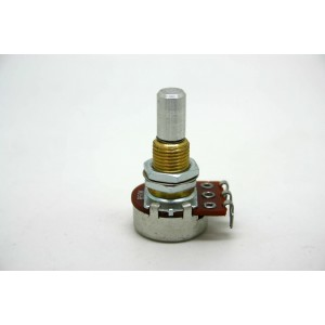 POTENTIOMETER B50K 50K 16MM SOLID SHAFT WITH CE NTE R DETENT FOR ACTIVE PICKUP