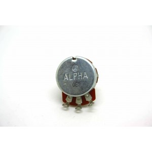ALPHA TAIWAN 2M B2M LINEAR SOLID SHAFT POTENTIOMETER 24mm 6.3MM METAL AXIS