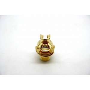 PURE TONE GOLD FULL CONTACT OUTPUT JACK MONO FOR GUITAR - AMP - EFFECT PEDAL