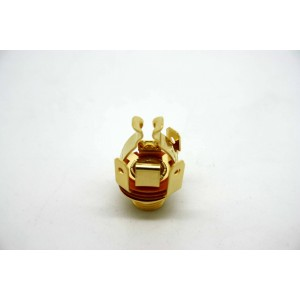 PURE TONE GOLD FULL CONTACT OUTPUT JACK STEREO FOR GUITAR - AMP - EFFECT PEDAL