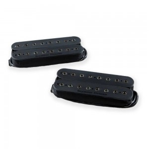 SEYMOUR DUNCAN MARK HOLCOMB ALPHA & OMEGA SET BLACK 8 STRINGS