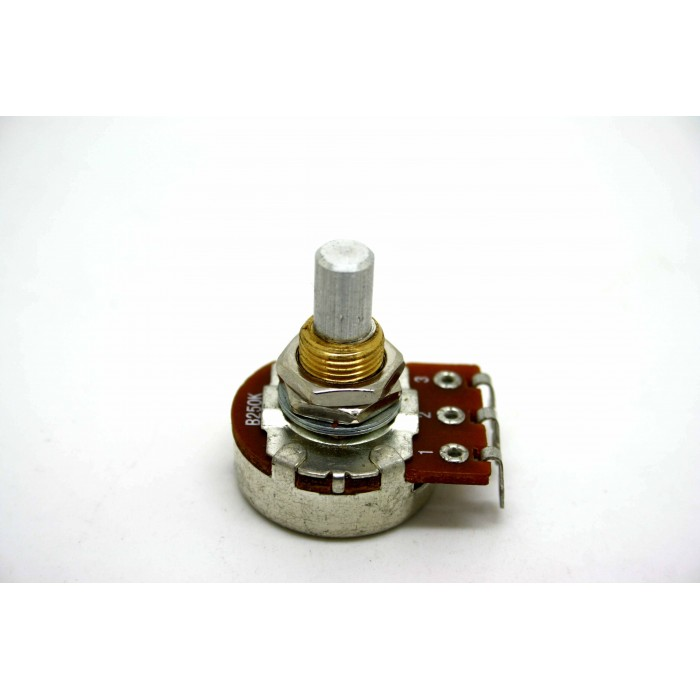 POTENTIOMETER BOURNS 250K B250K LINEAR 24mm SOLID SHAFT FOR GUITAR OR BASS