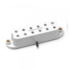 SEYMOUR DUNCAN SL59-1B LITTLE 59 PUE NTE BRIDGE WHITE
