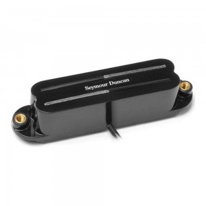 SEYMOUR DUNCAN SCR-1B COOL RAILS PUE NTE BRIDGE BLACK