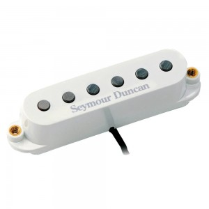 SEYMOUR DUNCAN SSL-5RW CUSTOM STAGGERED MEDIO MEDIUM POLARIDAD INVERTIDAD BLANCO