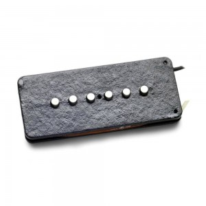 SEYMOUR DUNCAN SJM-2B HOT PUENTE BRIDGE NEGRO