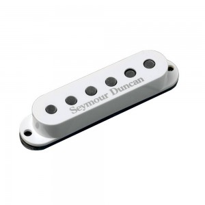SEYMOUR DUNCAN SSL-5 CUSTOM STAGGGERED BLANCO
