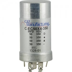 CE MANUFACTURING MFG 350V 50/50/50 / 50uF