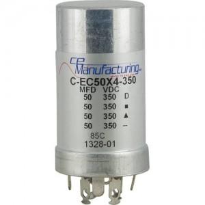CE MANUFACTURING MFG 350V 50/50/50/50uF