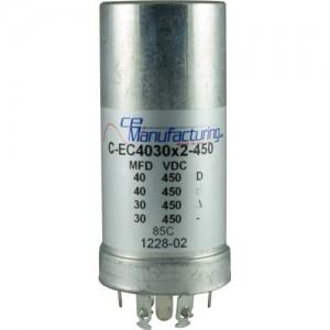 CE MANUFACTURING MFG 450V, 40/40/30/30µF