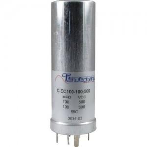 CE MANUFACTURING MFG 500V, 100 / 100µF