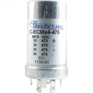 CE MANUFACTURING MFG 475V, 30/30/30 / 30µF