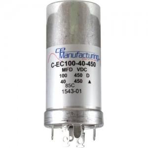 CE MANUFACTURING MFG 450V, 100 / 40µF