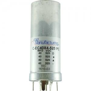 CE MANUFACTURING MFG 40/40/40/40µF, 525VDC