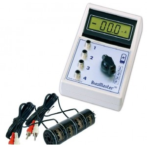 TAD BIAS MASTER OCT-4 QUAD BIAS AND MATCHING METER - ANY OCTAL TUBES WITH THE PLATE ON PIN 3