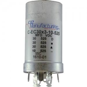 CE MANUFACTURING MFG 525V, 30/30/30/10uF