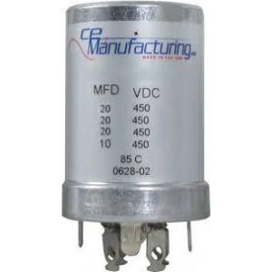 CE MANUFACTURING MFG 450V, 20/20/20 / 10uF