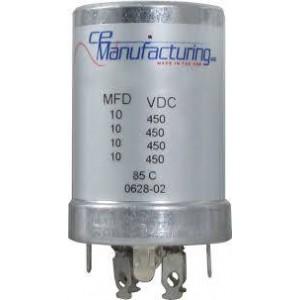 CE MANUFACTURING MFG 450V, 10/10/10/10uFF