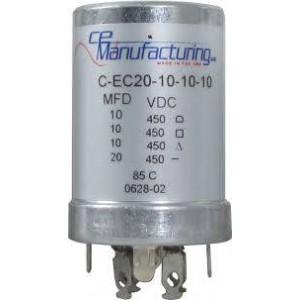 CE MANUFACTURING MFG 450V, 20/10/10 / 10uF