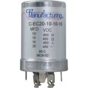 CE MANUFACTURING MFG 450V, 20/10/10/10uF