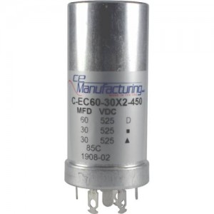 CE MANUFACTURING MFG 450V, 60/30 / 30uF