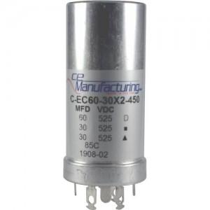 CE MANUFACTURING MFG 450V, 60/30/30uF