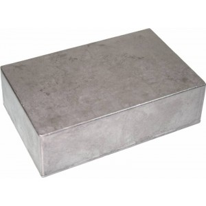 EDDYSTONE D 188x120x57mm STOMP BOX DIECAST ENCLOSURE UNFINISHED FOR EFFECT PEDALS