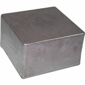 GENUINE HAMMOND 1590U STOMP BOX DIECAST ENCLOSURE UNFINISHED FOR EFFECT PEDALS