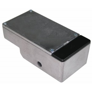 BARE BOX NO.1 STOMP BOX DIECAST ENCLOSURE PRE-DRILLED FOR EFFECT PEDALS