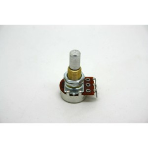 POTENTIOMETER B100K 100K 16MM SOLID SHAFT WITH CE NTE R DETENT FOR ACTIVE PICKUP