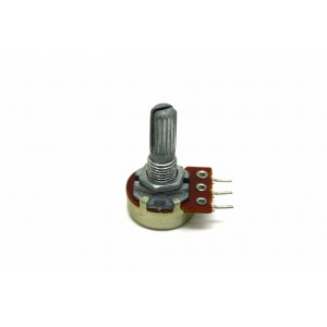 POTENTIOMETER B100K 100K LINEAR PC MOUNT 17mm BASE
