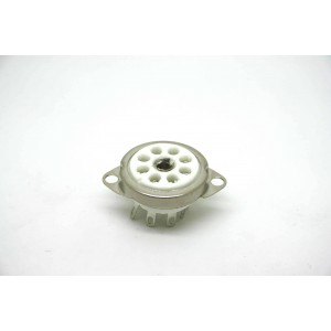CERAMIC 8 PIN OCTAL MINI TUBE VACUUM SOCKET 25mm TO 30mm HOLE
