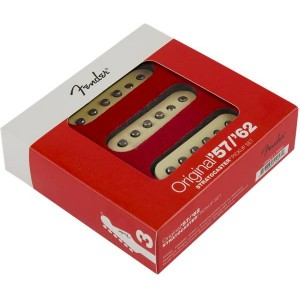 FENDER ORIGINAL '57/'62 STRAT® PICKUPS SET AGED WHITE 0992117000