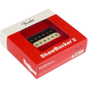 FENDER SHAWBUCKER™ 2 HUMBUCKING PICKUP ZEBRA 0992249002