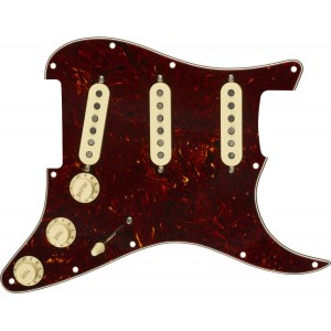 FENDER TORTOISE PRE-WIRED STRAT® PICKGUARD, CUSTOM SHOP FAT 50'S SSS 0992340500