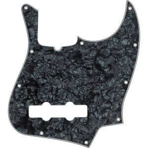 FENDER PICKGUARD JAZZ BASS® BLACK PEARL, 10-HOLE MOUNT, 4-PLY 0992171000