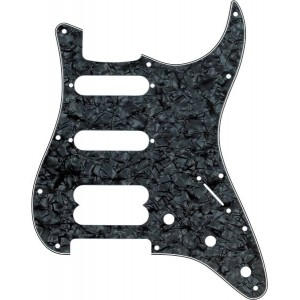 FENDER PICKGUARD, STRATOCASTER® H / S / S ULTRA SERIES, 11-HOLE MOUNT, BLACK PEARL, 4-PLY 0992146000