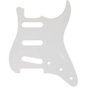 FENDER STRATOCASTER '50S VINTAGE-STYLE ® S / S / S 8-HOLE WHITE PICKGUARD 0992017000