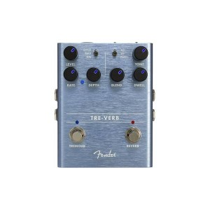 FENDER TRE-VERB DIGITAL REVERB / TREMOLO 0234541000