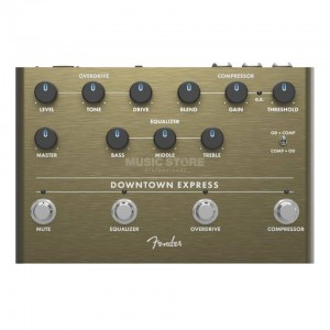 FENDER DOWNTOWN EXPRESS BASS MULTI-EFFECT PEDAL 0234538000