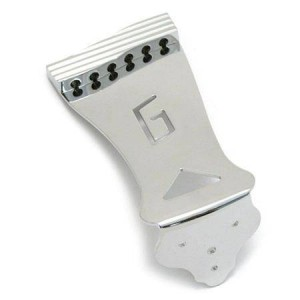 "GRETSCH® ""HARDTAIL"" TAILPIECE ELECTROMATIC® COLLECTION, CHROME SGTP-G2 0062745000"