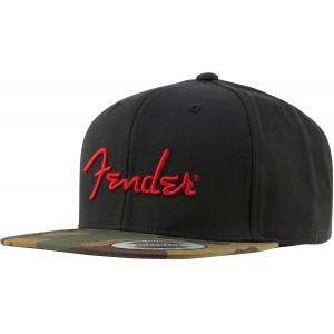 FENDER® CAMO FLATBILL HAT GORRA 9190119000