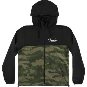 FENDER® CAMO AND BLACK WINDBREAKER CHAQUETA CORTAVIENTOS TALLAS S HASTA LA XXXL 9190127306