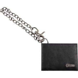 CHARVEL® LIMITED EDITION LEATHER WALLET WITH CHAIN CARTERA BILLETERA TARJETERO 9922529100