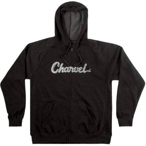 CHARVEL® LOGO HOODIE CHARCOAL SUDADERA TALLAS S A LA XXL 0992463806