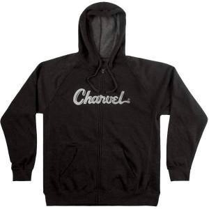 CHARVEL® LOGO HOODIE CHARCOAL SWEATSHIRT SIZES SA LA XXL 0992463806