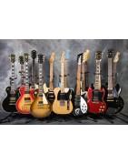 Gitarren- und Bassstimmen